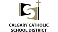 Logo for Calgary Catholic Schools which has been a Rycor User for over five years