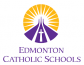 Logo for Edmonton Catholic Schools which has been with Rycor for over ten years