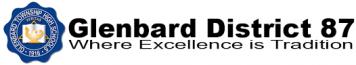 Glenbard District 87 Schools logo for Rycor client